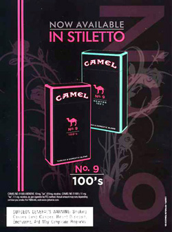 Silenced Majority Portal: Camel Cigarettes Target Females