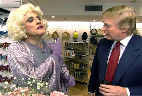 Cross Dresser Giuliani Questions Foot in the mouth Bidens Mental Capacity