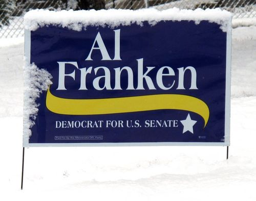 06 Franken Sign covered in Snow