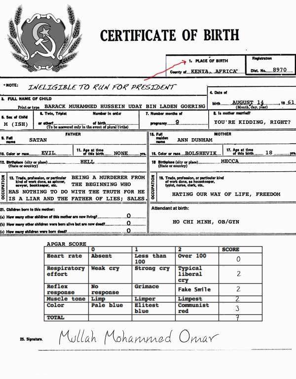 Silenced Majority Portal Hawaii May Sell Obama Birth Certificate