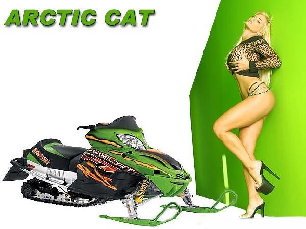 Arctic Cat 440 Snowmobile. (Synchronize yamaha snowmobile